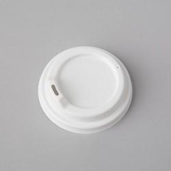 Plastmasas vāciņi ø80mm ar snīpīti, balti, iepakojumā 50gab.