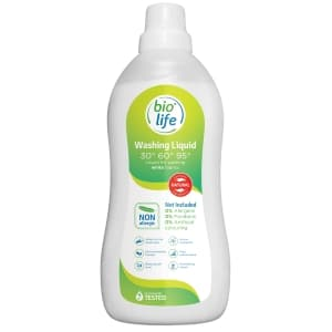Hipoalerģens mazgāšanas šķidrums baltai veļai 1L