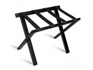Bagāžas krēsls WOOD black