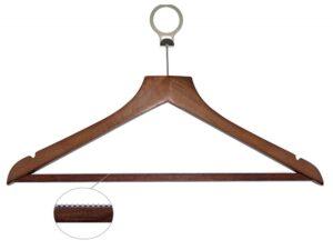Koka pakaramais ar metāla riņķi Basic