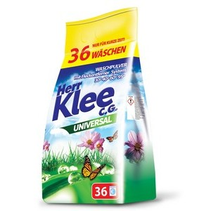 Veļas pulveris Herr Klee C.G. Universal 3kg